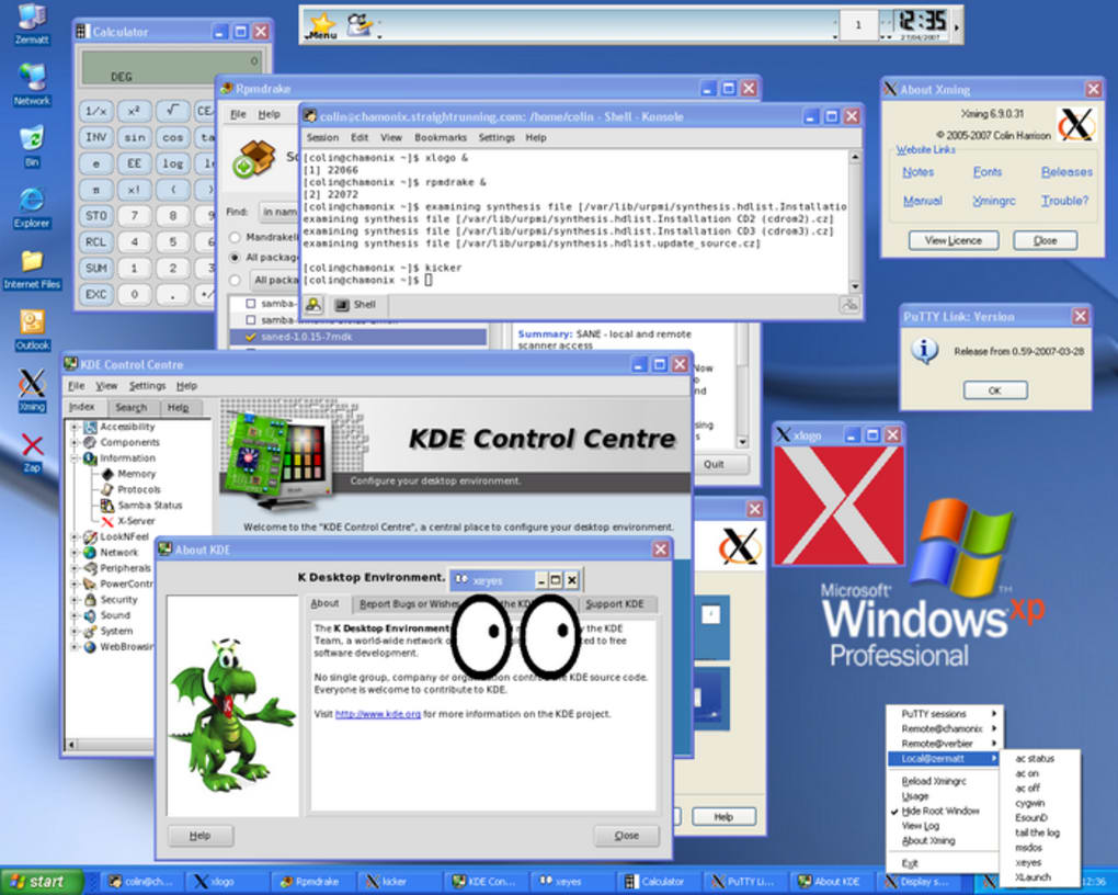 xming windows 8