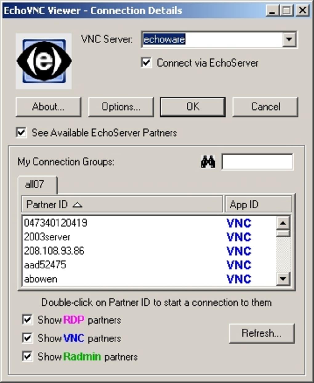 echovnc server