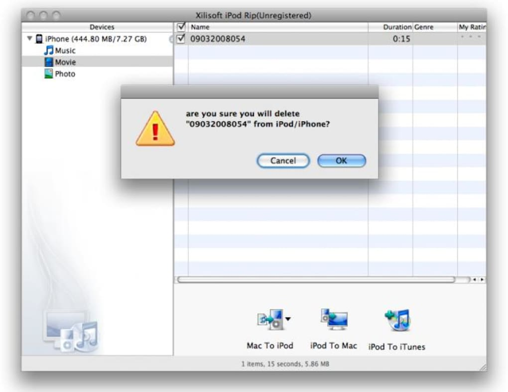 Xilisoft iPod Rip for Mac - Download