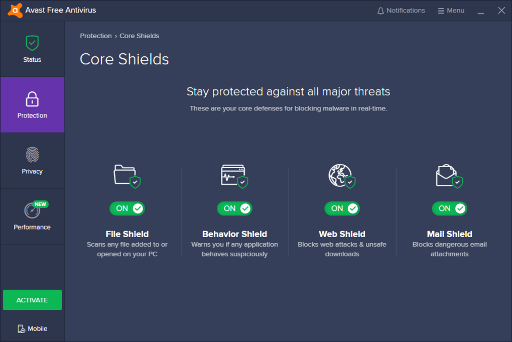 download free antivirus avast trial version