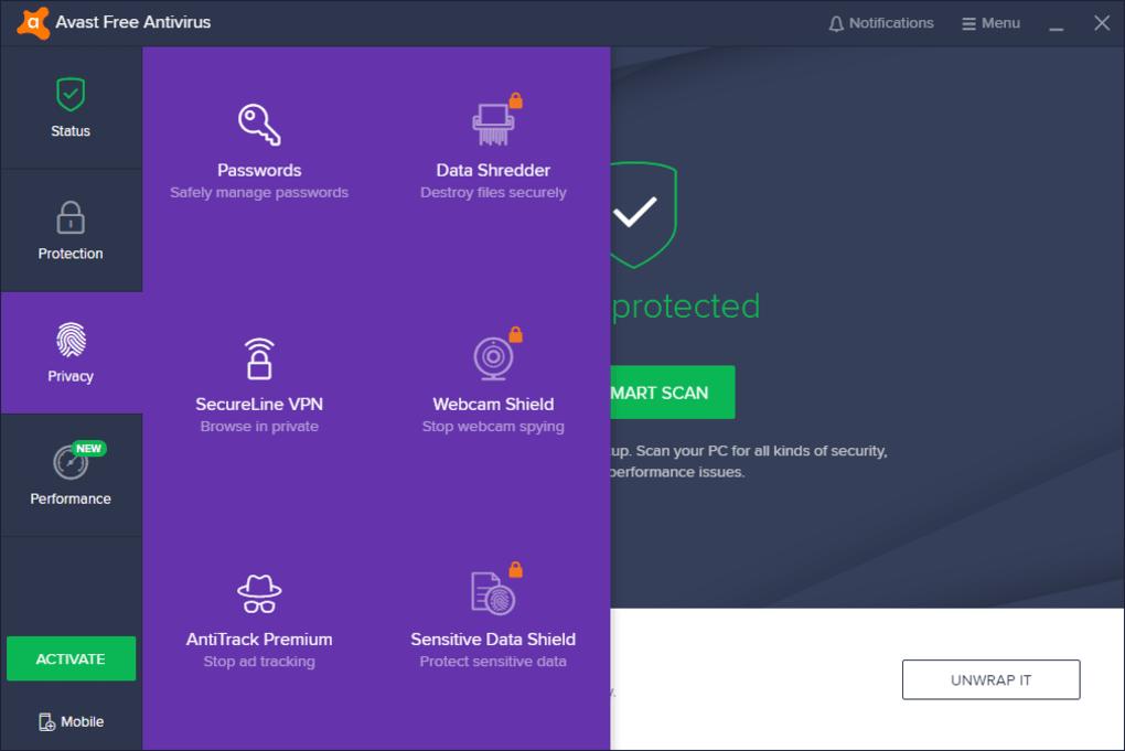avast antivirus 2019 free download