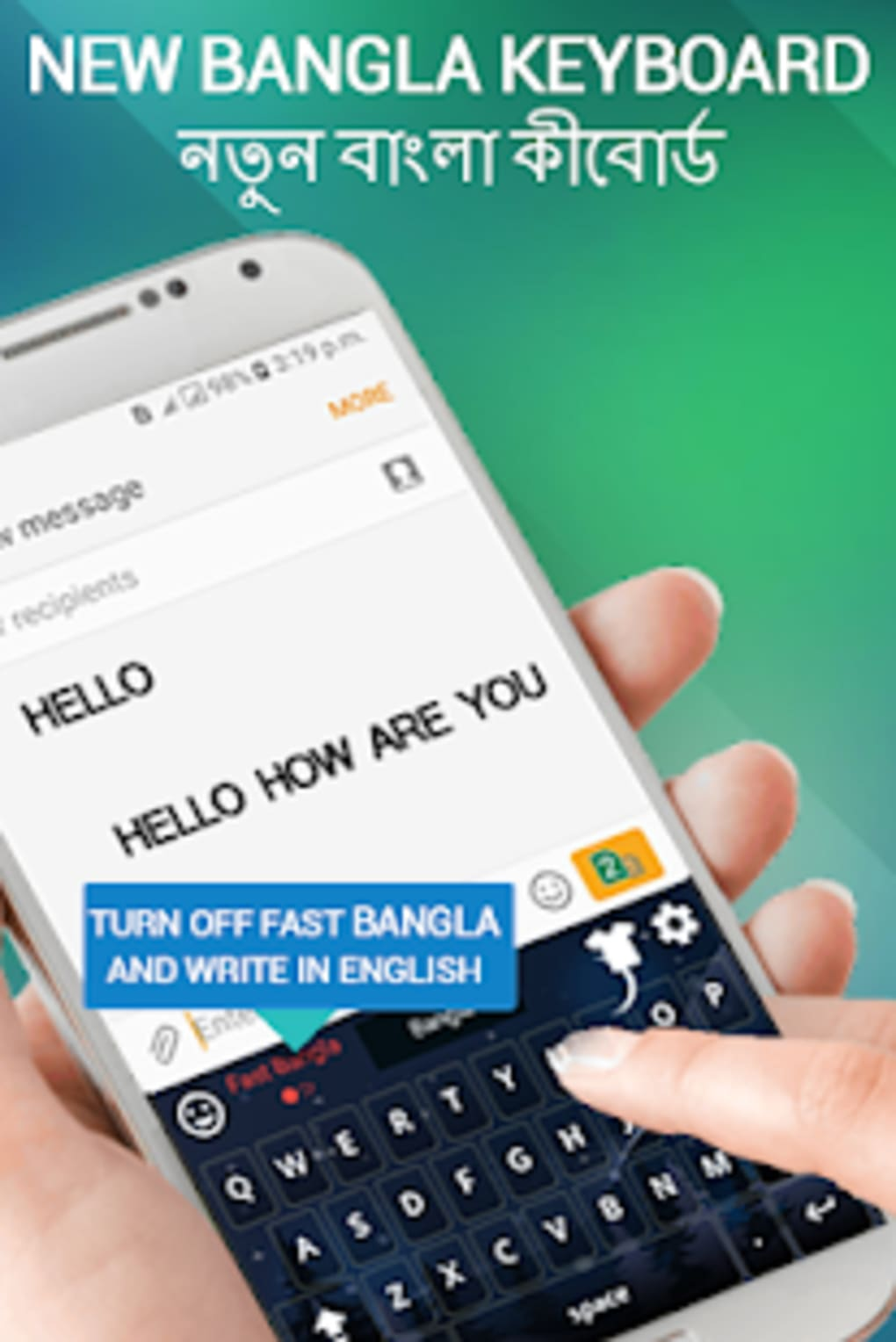 Bangla English Keyboard- Bengali keyboard typing for Android