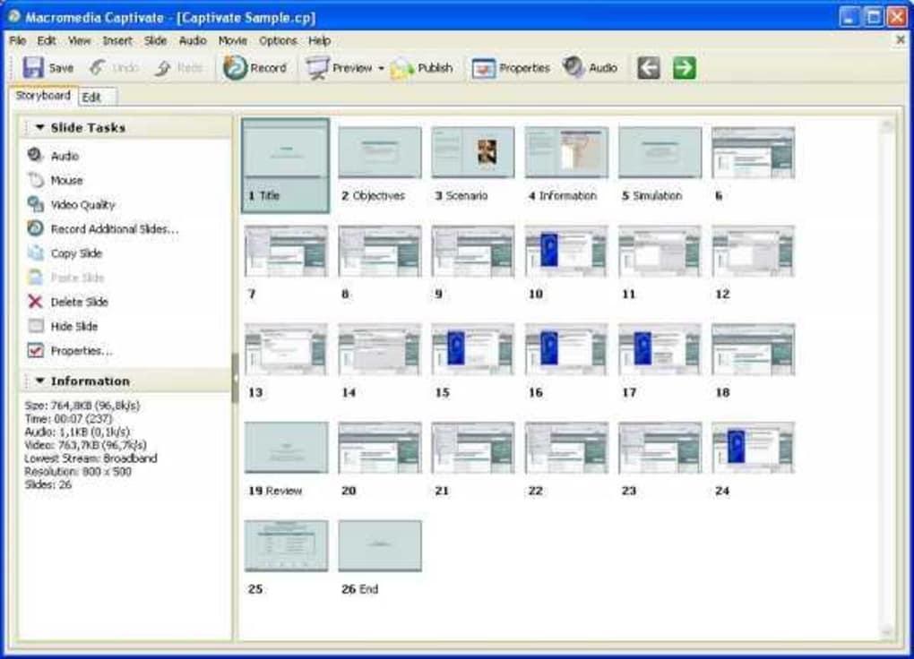 Macromedia Captivate - Download