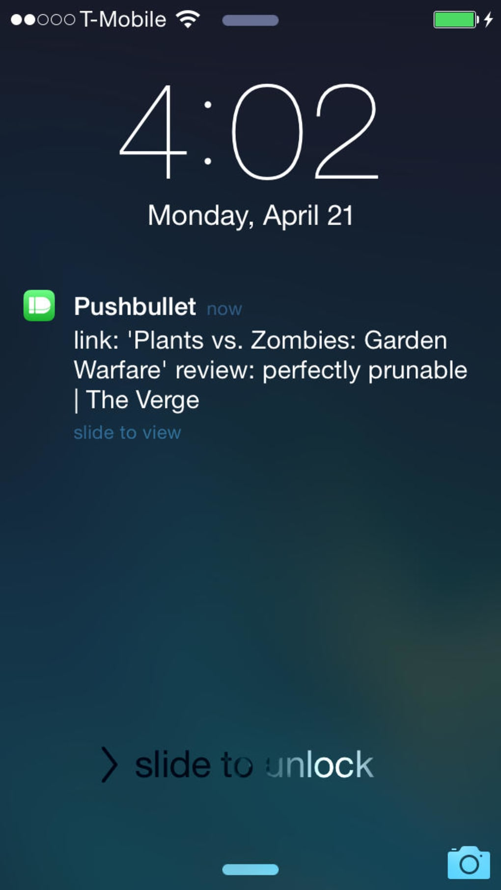 PushBullet for iPhone - Download