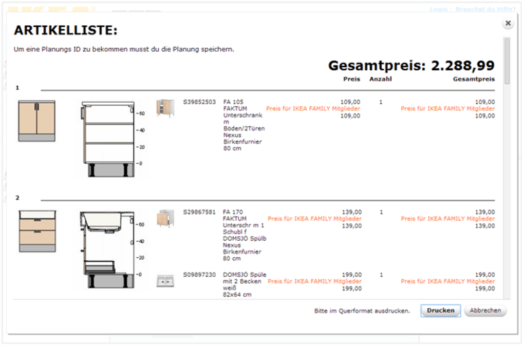 Ikea Kuchenplaner Online