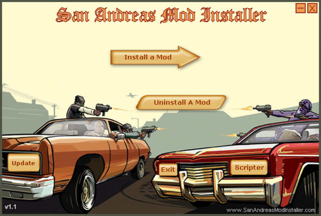 San Andreas Mod Installer - Download
