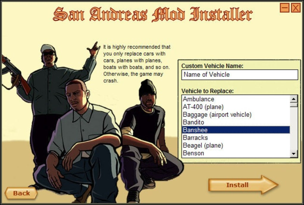 mod installer gta sa download