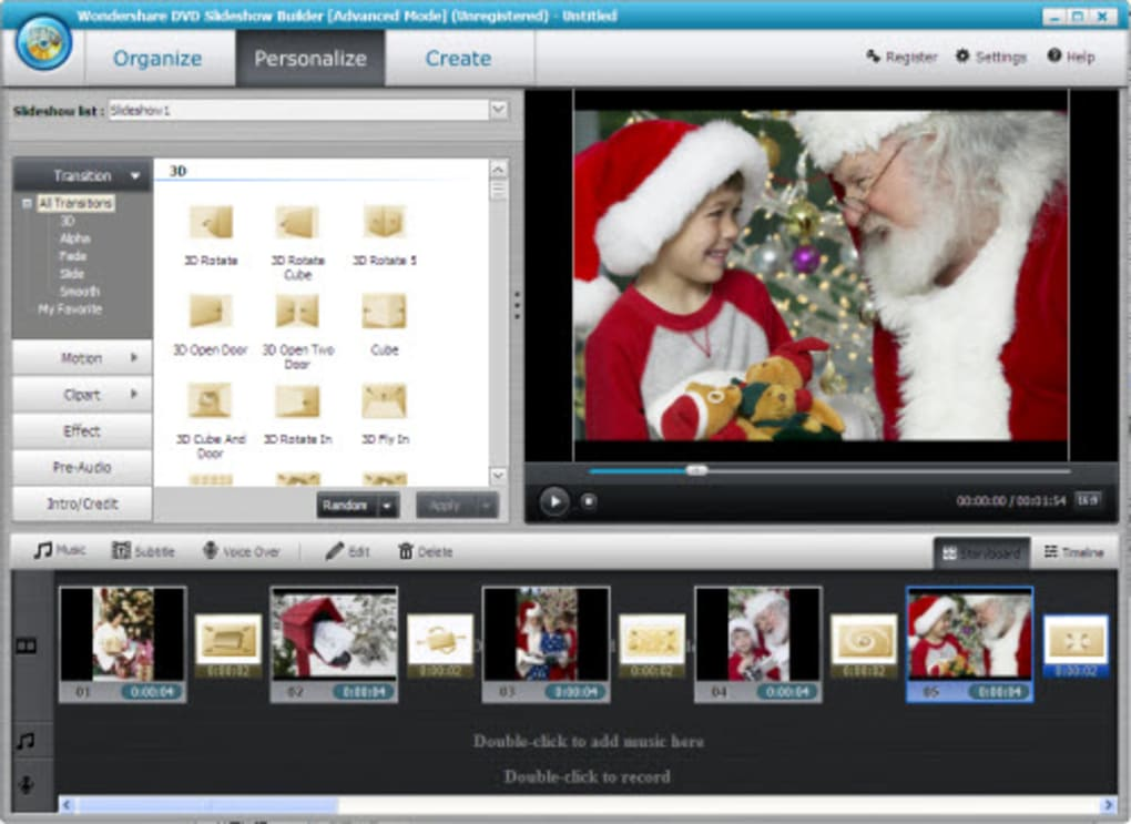 wondershare dvd slideshow builder free download with crack