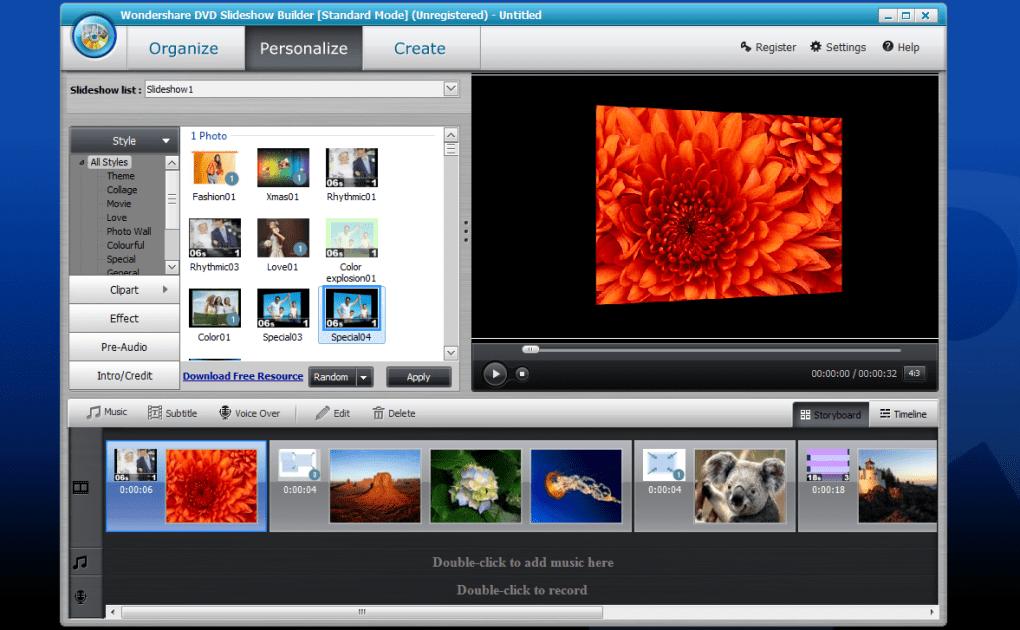 wondershare dvd slideshow builder deluxe 6.5.1 registration code