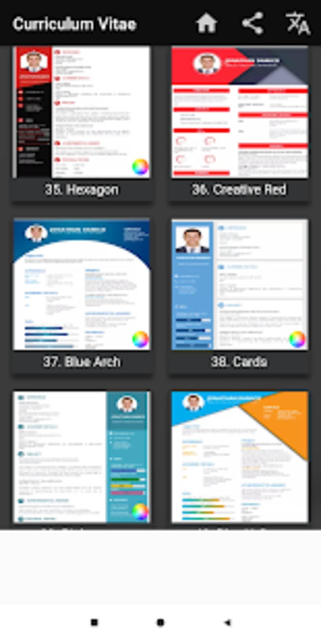 curriculum vitae app cv builder resume cv maker for