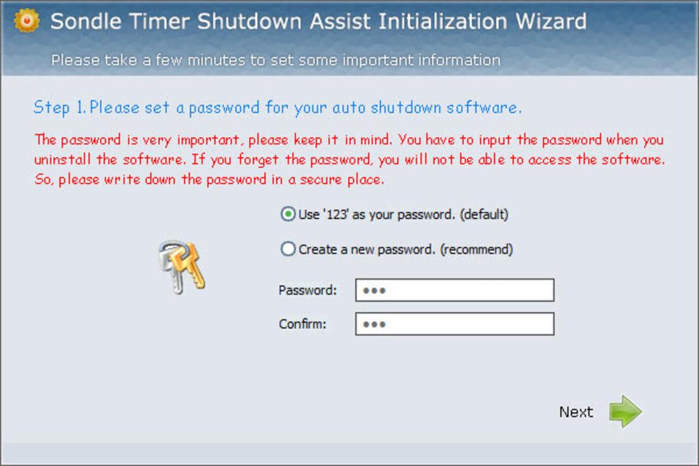 Timer Shutdown Assist
