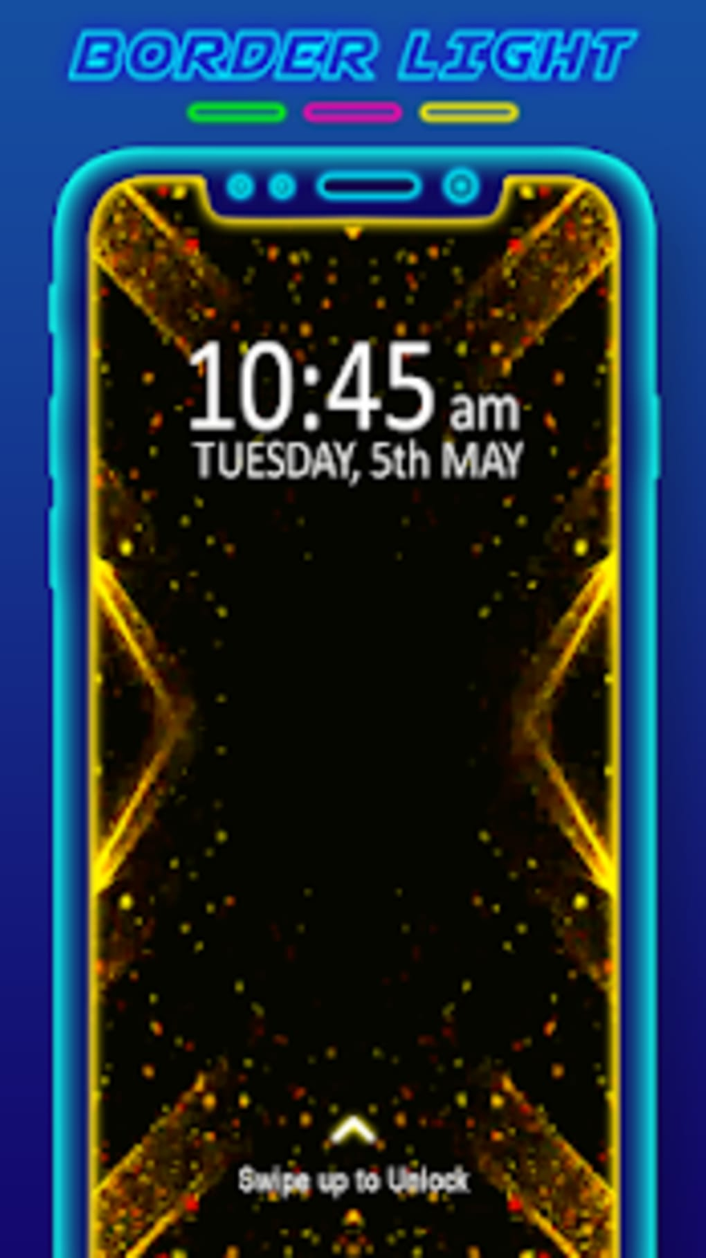 Border Light - LED Color Live Wallpaper for Android - Download