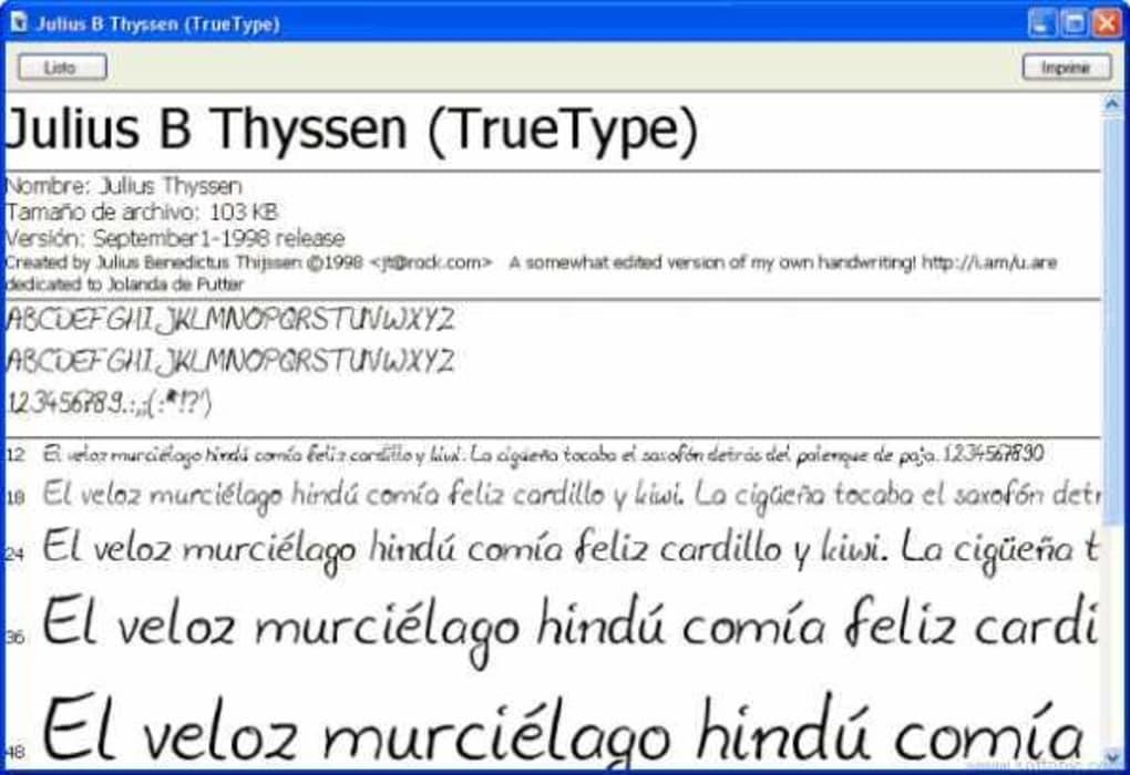 TrueTypeFonts - Download