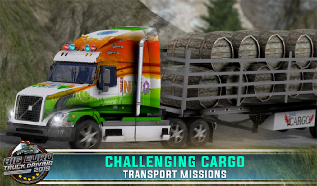 Euro Truck Simulator 2019 Cargo Truck Transport for Android
