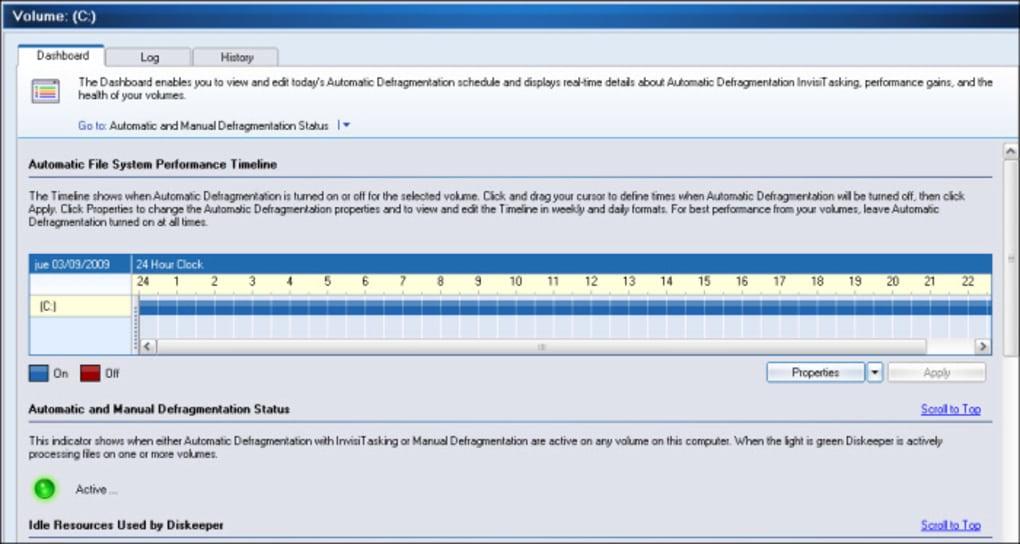 programma deframmentazione diskeeper