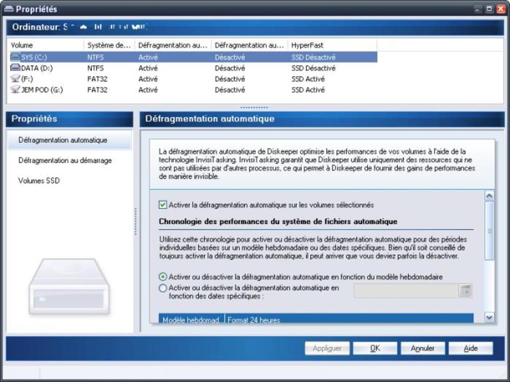 diskeeper gratuit