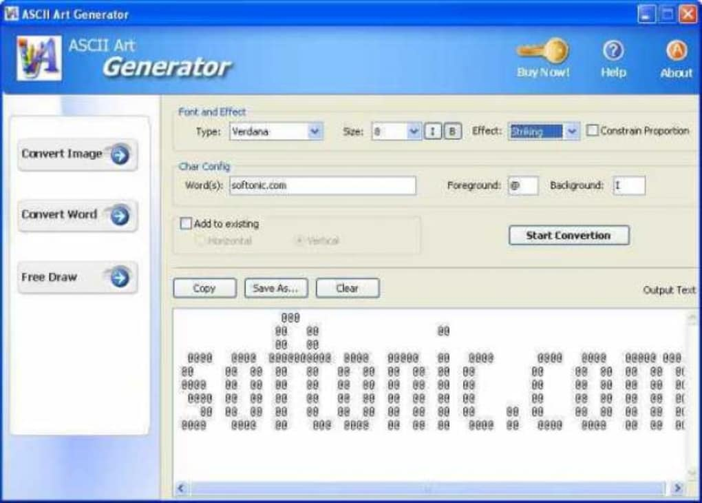 ASCII Art Generator - Download