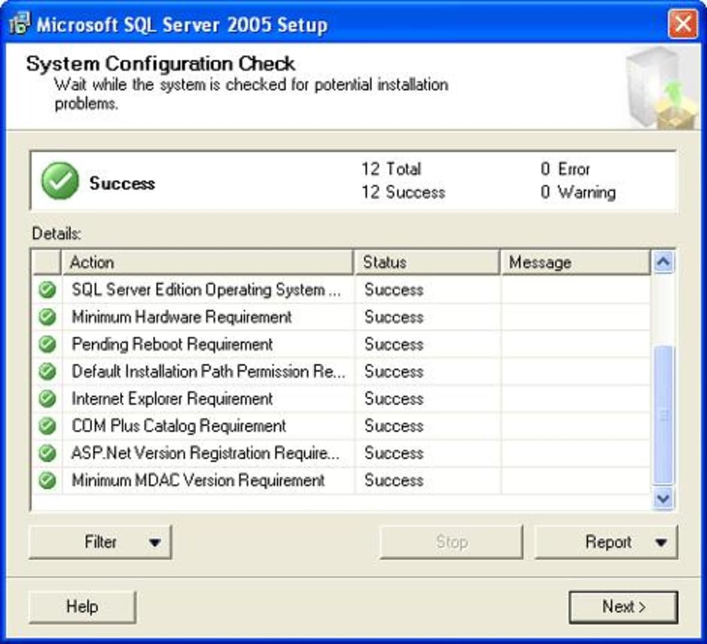 Sql server 2005 free download.