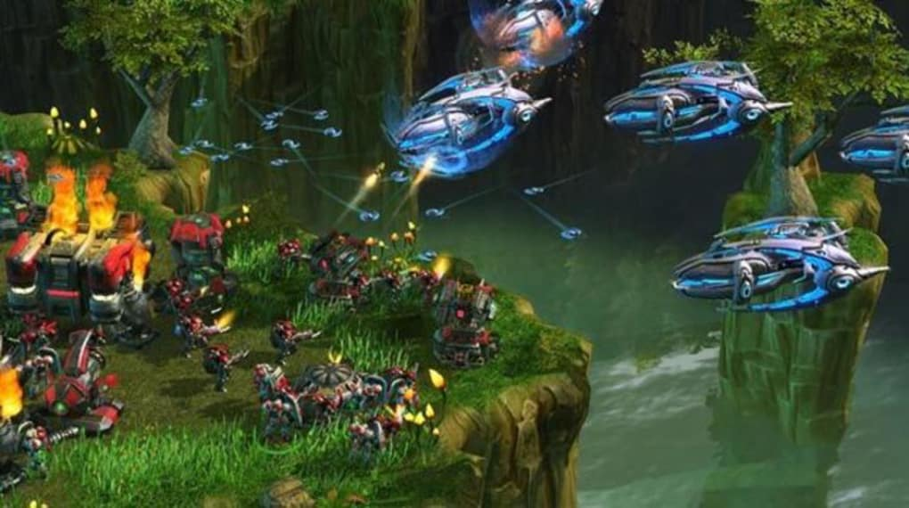 Wage war across the galaxy with three unique and powerful races. StarCraft II is a real-time strategy game from Blizzard Entertainment for the PC and Mac.