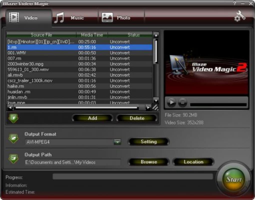 blaze video magic software download