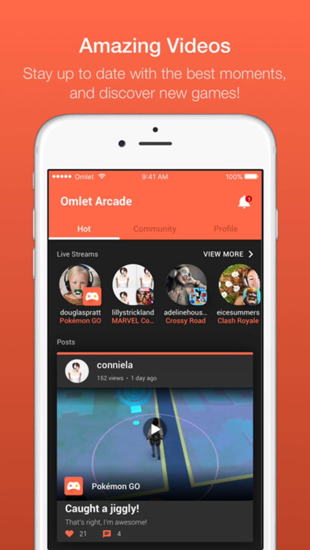 Omlet Arcade for iPhone - Download