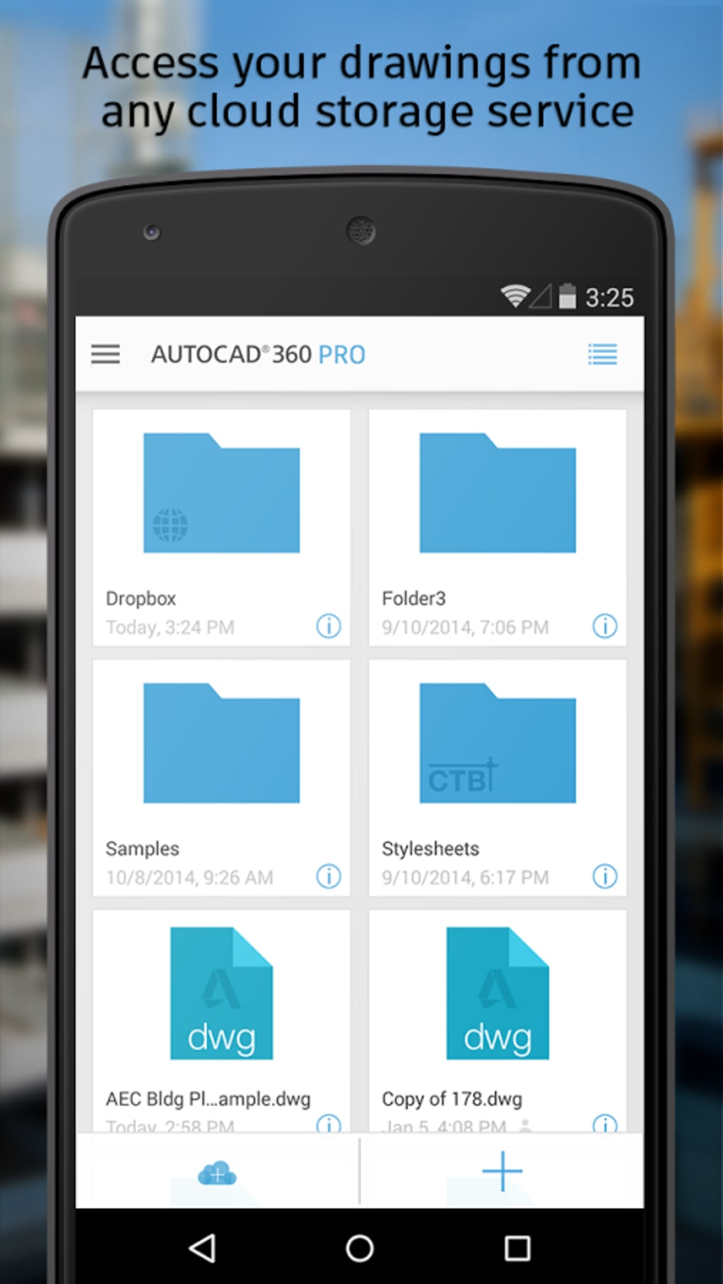 AutoCAD 360 for Android - Download
