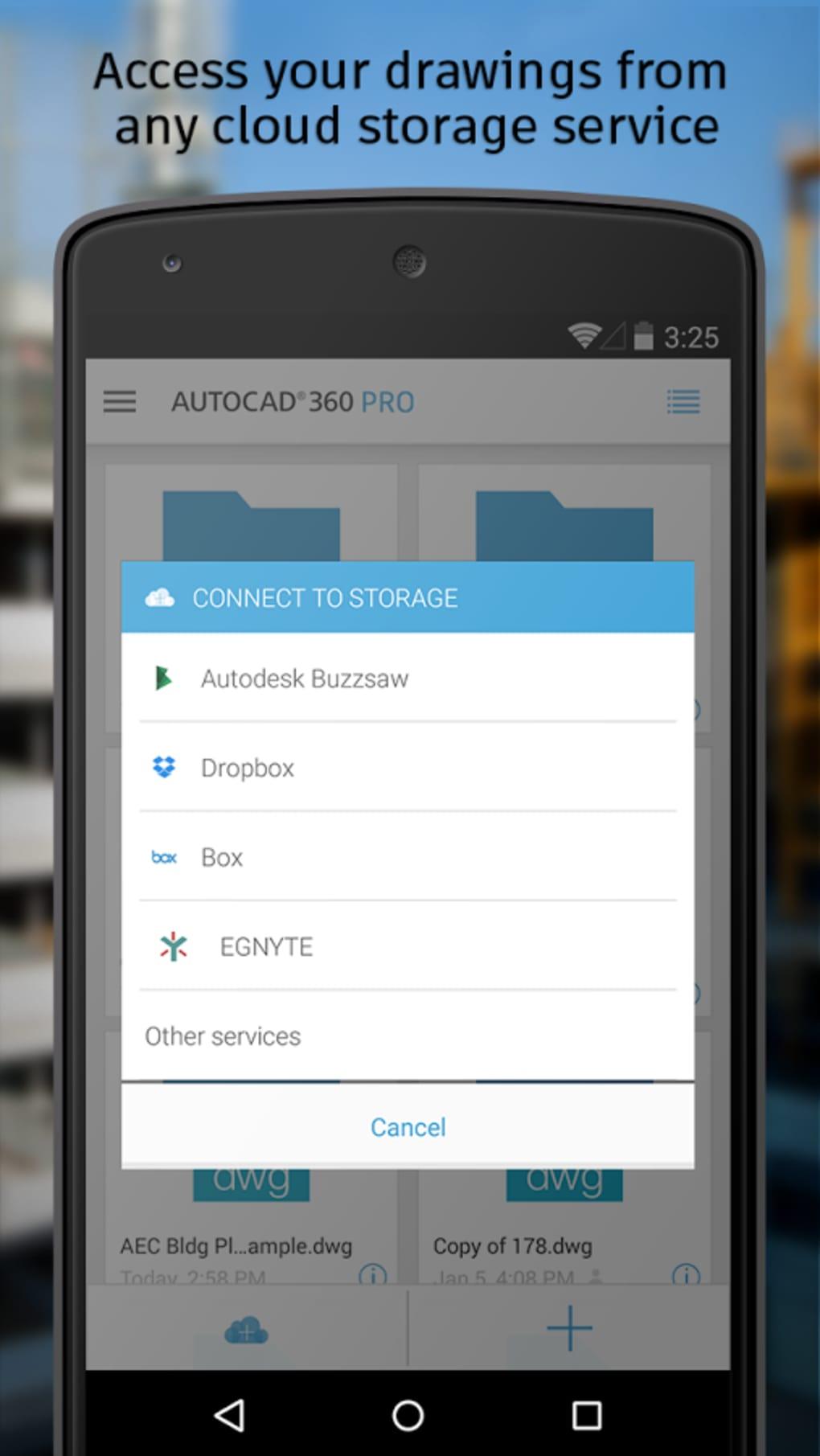 Autocad 360 Pour Android Télécharger