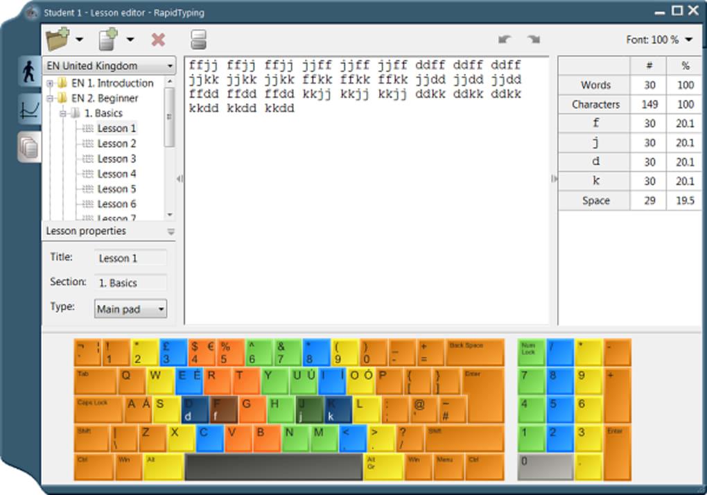 Rapid Typing Tutor - Download