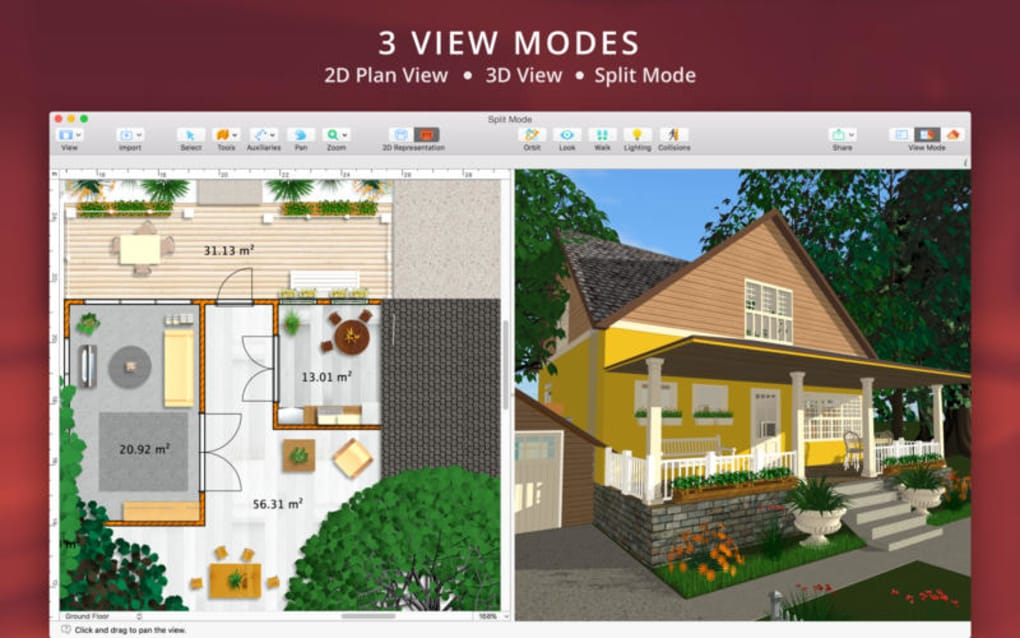 Live Home 3D Pro for Mac - Download