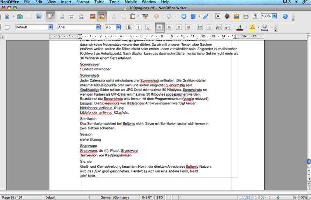 openoffice pour mac os x 10.6.8