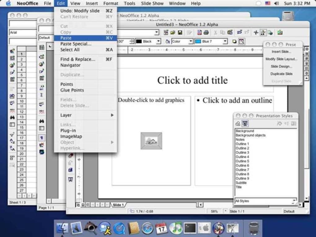 open office gratuit pour mac os 10.6.8