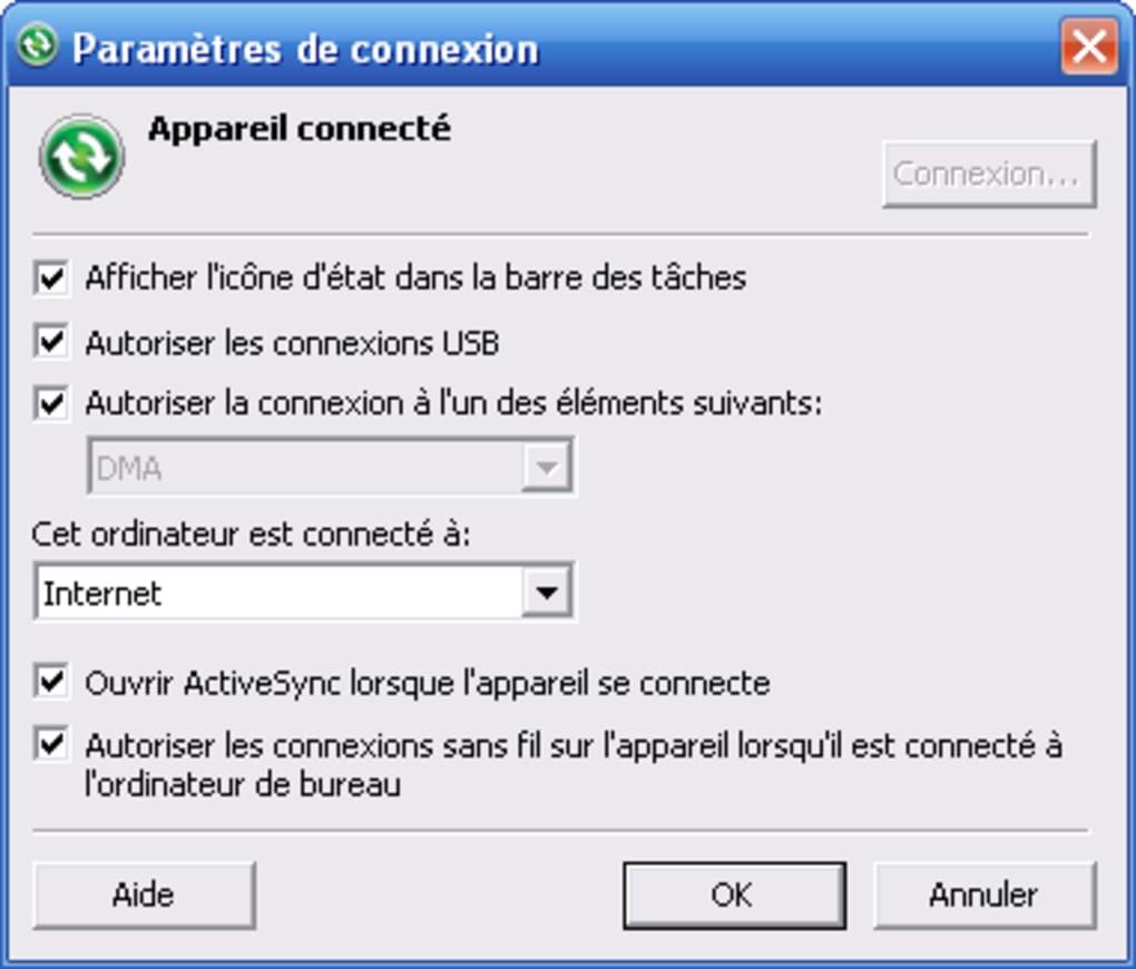 activesync 4.5 franais gratuit