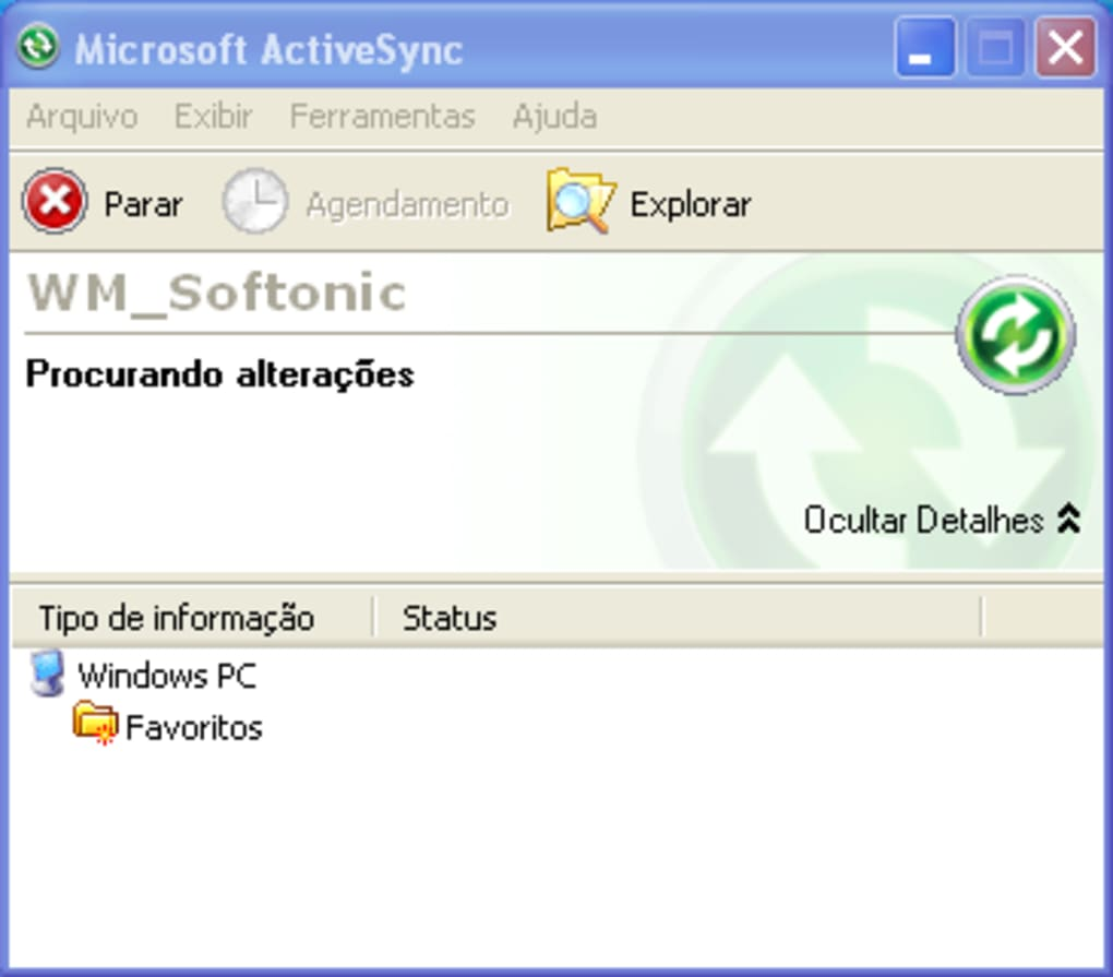 microsoft activesync windows 8