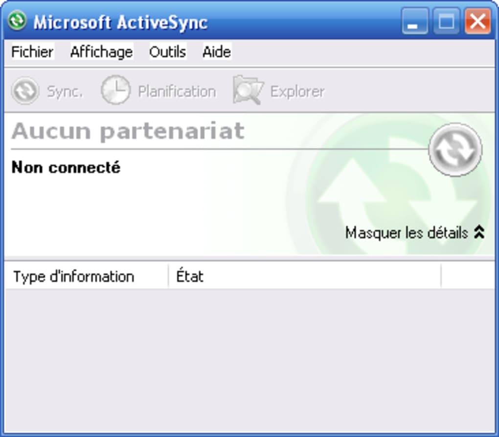logiciel activesync gratuit