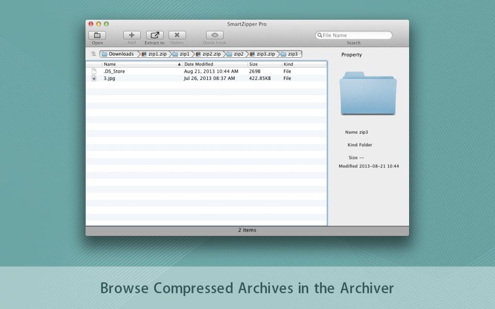 Smart Zipper Pro for Mac - Download