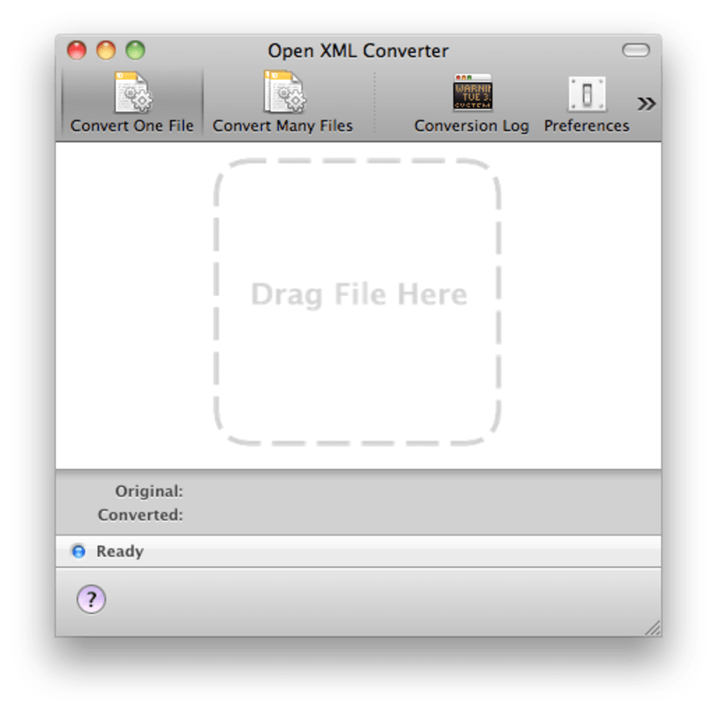 open xml converter mac 1.2.1