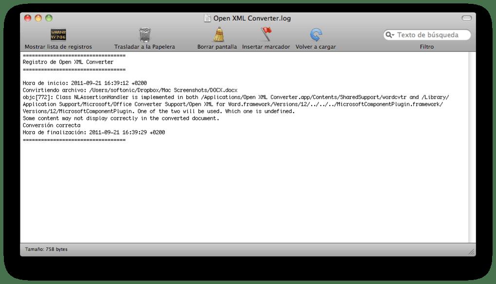 Microsoft Office Open XML File Format Converter for Mac (Mac