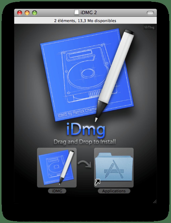 idmg pour mac