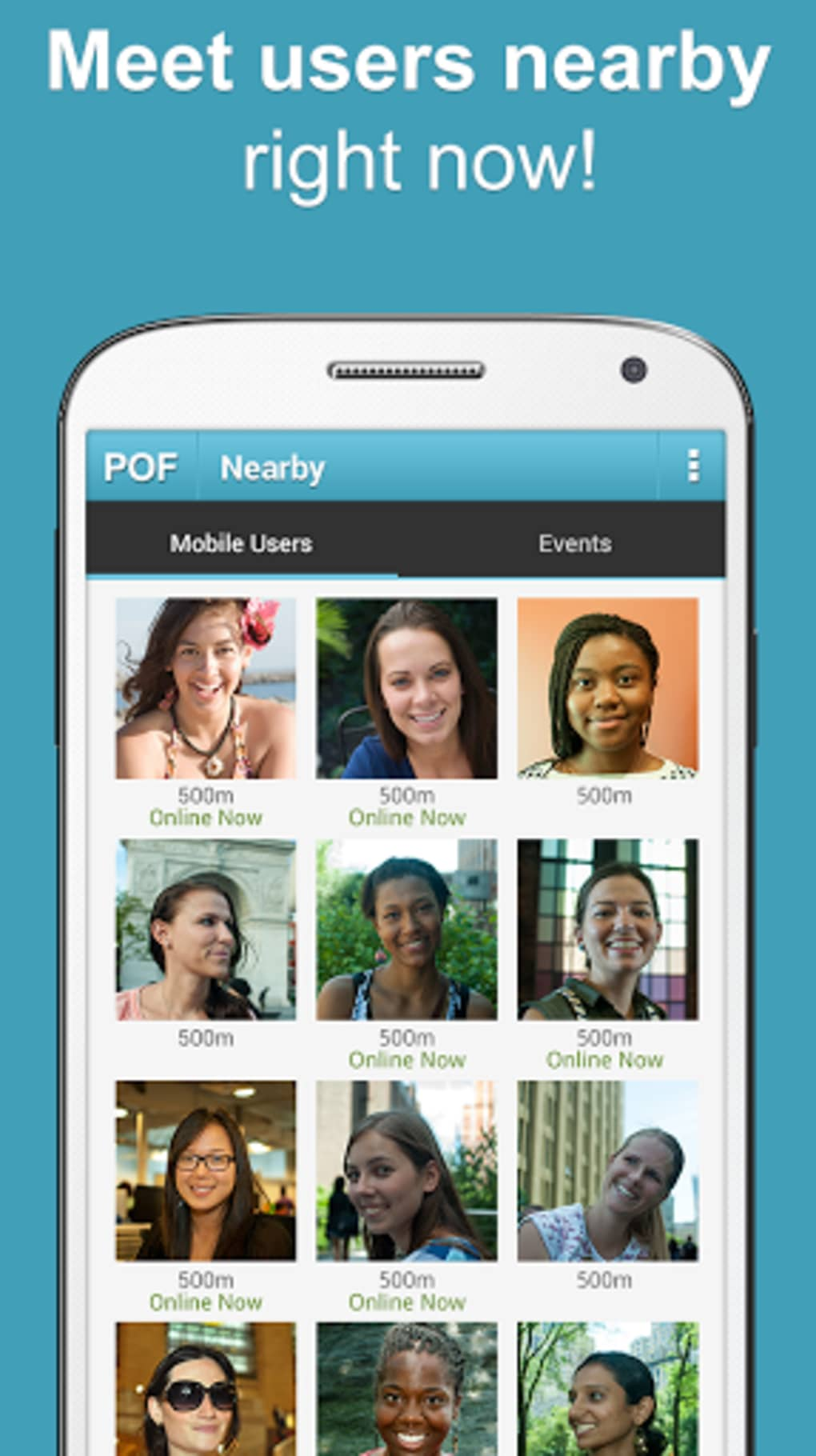 download latest pof app