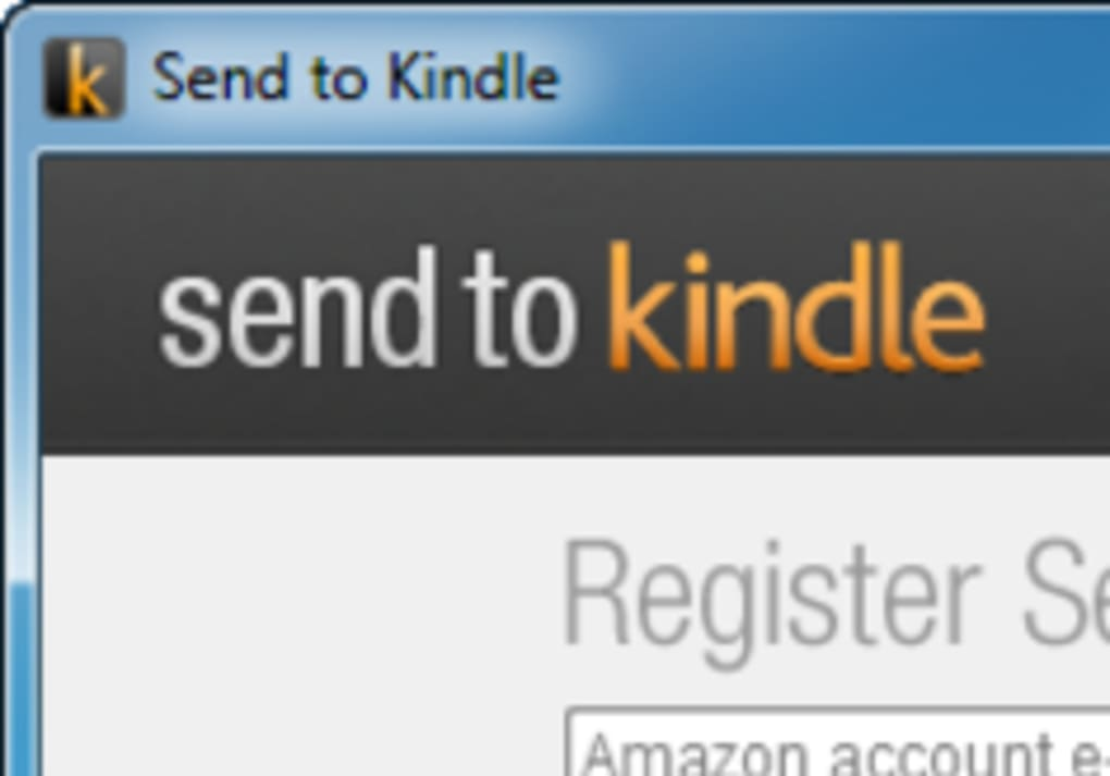 Send to Kindle for Mac - Download