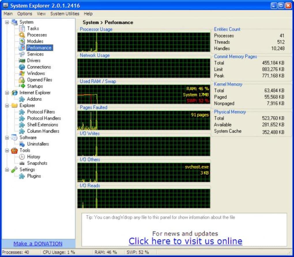 System Explorer Portable - Download