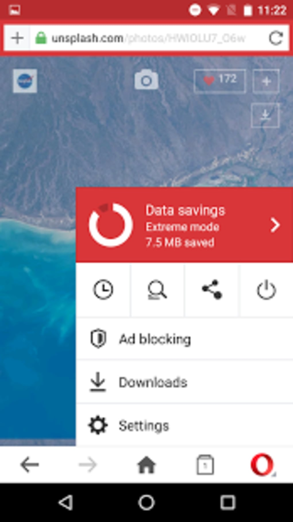 opera browser latest version download for android