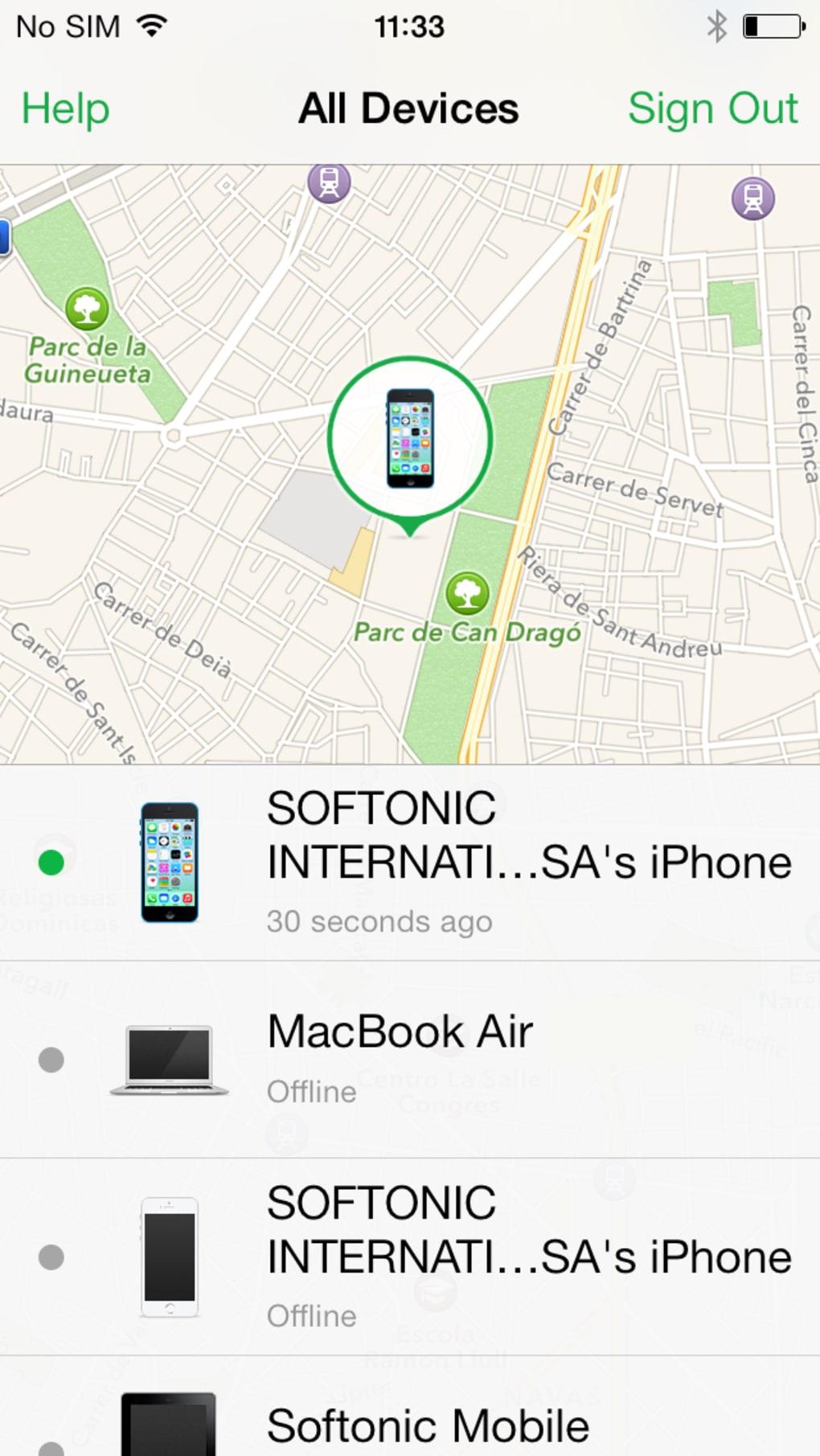 Configurer la fonctionnalité Localiser mon iPhone