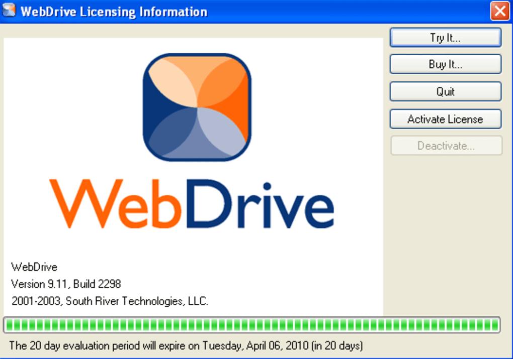 webdrive full download
