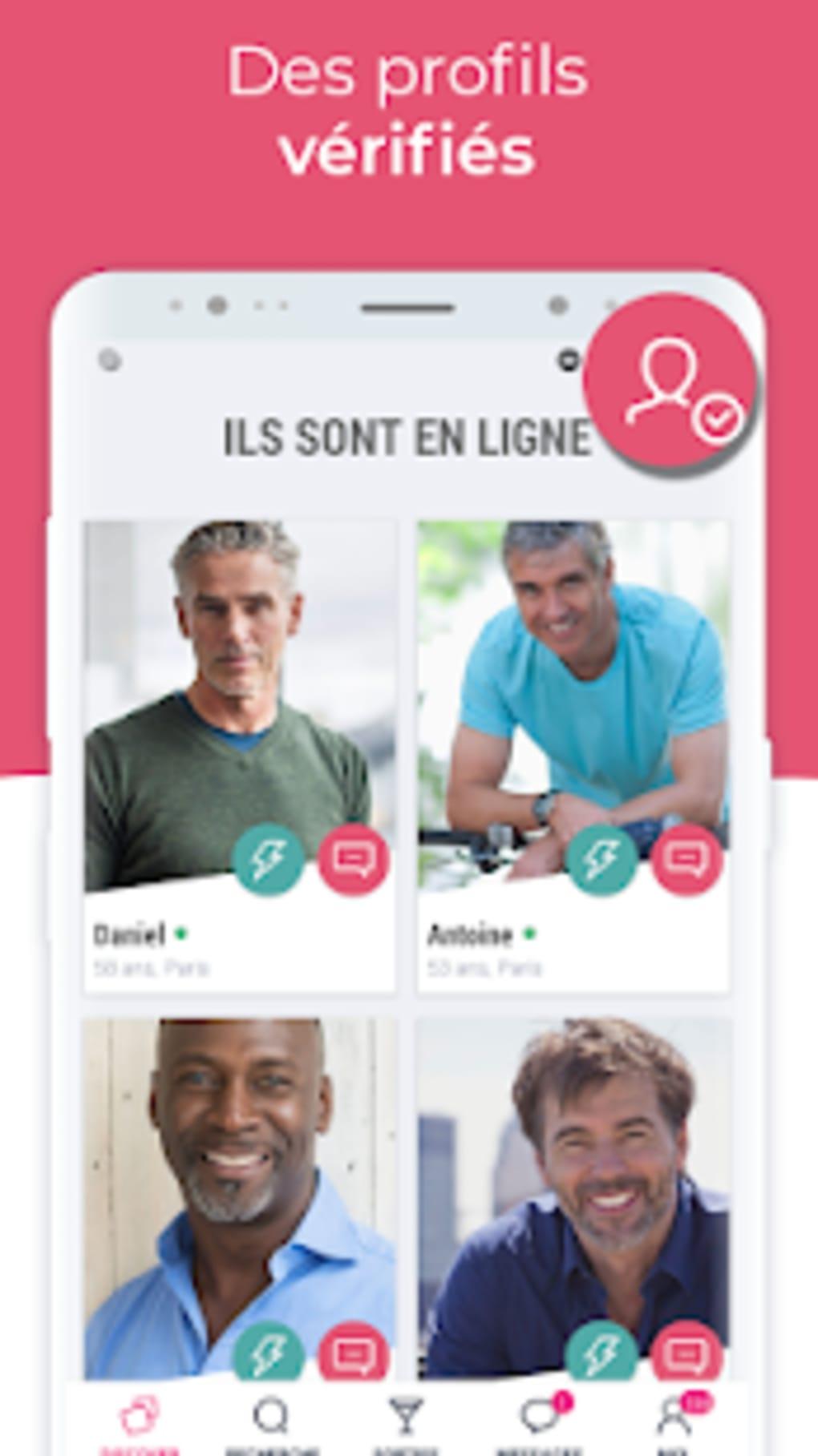 Rencontres en ligne pour Android