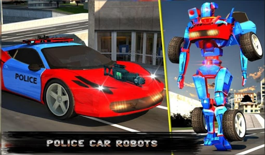 Police Robot Car Simulator For Android Download