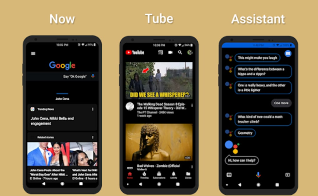 Alpha Substratum Theme For LG V30 for Android - Download
