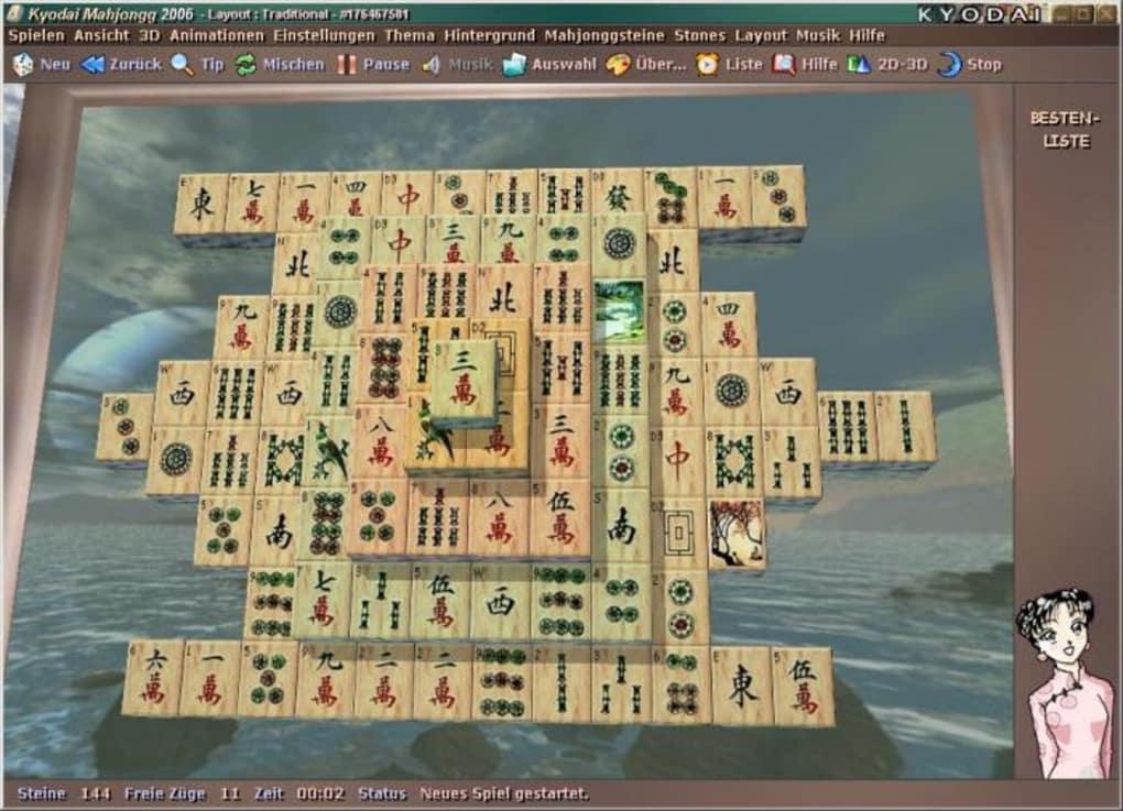kyodai mahjongg kostenlos