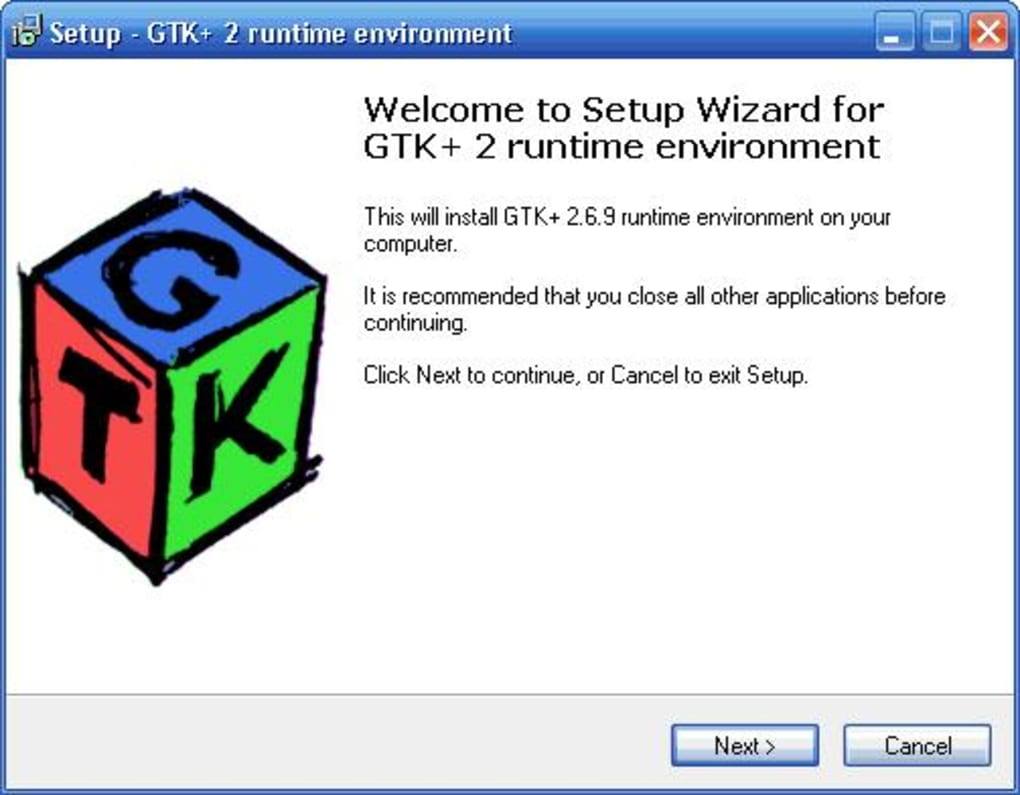 GTK+ 2 Runtime Environment - Download