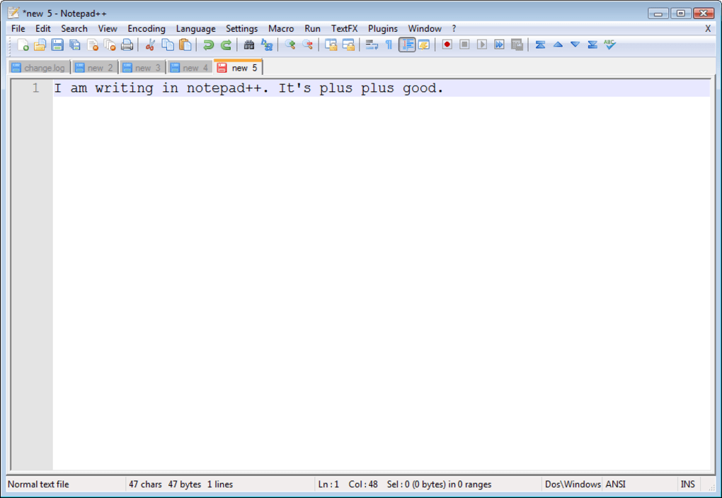 untitled notepad gratuit